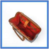 De aangepaste Wol van het Ontwerp voelde de Toevallige het Winkelen Zak van het Handvat, de Hete Handtas van de Totalisator van de Carrier van de Bevordering met het Comfortabele Handvat van het Leer van Pu