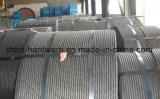 Гальванизированная стальная стренга/гальванизированный стальной провод/провод утюга