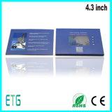 4.3inch LCD VideoKaarten, de Kaarten van de Groet, Adreskaartjes, LCD de VideoKaart van de Groet