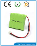 NiMH AA 600mAh 2.4Vの充電電池