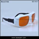 Ce En207 de la reunión de las gafas de la protección de las gafas de seguridad de laser de Gty 532nm 1064nm con el alto nivel de la protección