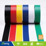 Fita de PVC de venda quente da cor vermelha com boas propriedades da isolação