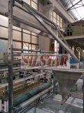 Automatisches Doppeltes faltet den Abfall-Beutel, der herstellt Maschine (fold-fold/c-fold)