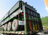 3 Axle бортовой стены груза трейлер Semi для Снабжения Компании
