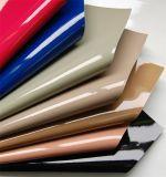 Glattes PU-Patent-Chemiefasergewebe-Leder