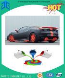 Peinture de jet de haute résistance de couleur pour la réparation de véhicule