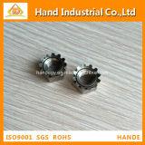 Tuerca métrica de calidad superior de la talla A2 K del acero inoxidable