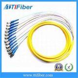 Treccia ottica della fibra di colori di LC/Upc MP 12