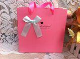 Рециркулированная OEM хозяйственная сумка бумажного мешка для одежд с логосом