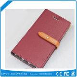 Samsung S8 S8plusの例の水星のGoosperyのキャンバス日記の札入れのための卸し売りGoosperyのケースのキャンバス