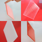 Feuille colorée de polycarbonate de matériau de toiture de jardin