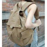 소녀 또는 숙녀 형식 우연한 륙색 고등학교 부대 화포 졸라매는 끈 책가방