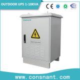 UPS en línea al aire libre 10kVA con la batería del hierro del litio
