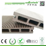 Le prix de gros certifié par Ce/ISO/SGS de WPC de Decking d'étage de cavité de Decking d'usine composée extérieure d'étage