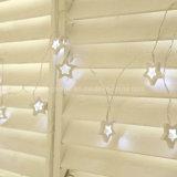 Noël blanc Décoration intérieure Étoile Bois batterie fées de lumières