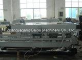 PP/PE/PVC Singel Wand-gewölbte Rohr-Strangpresßling-Zeile (16-63mm)