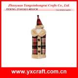 De Decoratie van de Amerikaanse elanden van Kerstmis van de Zak van de Wijn van Kerstmis van de Decoratie van Kerstmis (zy14y444-1-2-3 30CM)