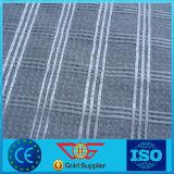 Geocomposite del abrigo del hilado de la fibra de vidrio hecho punto con el geotextil no tejido