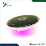 Nieuwe Model Draadloze Lader met Kleurrijke LEIDEN Licht overeenkomstig Ce, FCC RoHS