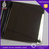 Miroir Polished Stainless Steel Sheet pour Wall Covering Panels