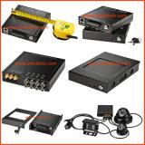systèmes de sécurité mobiles de télévision en circuit fermé d'enregistreur vidéo de véhicule de véhicule de 3G 4G HD 1080P DVR avec l'appareil-photo grand-angulaire de 4 HD avec le rail de GPS