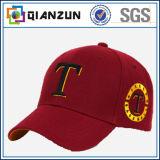 Chapéus de basebol do boné de beisebol 6 tampões dos esportes dos tampões do painel