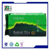 Bustina di tè vuota verde del commestibile