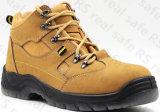 Zapatos de seguridad de la marca de fábrica para los trabajadores de construcción