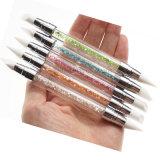 Uitrusting van de Schoonheid van de Pen van de Borstel van het Gel van de Kunst van de spijker de Rubber Snijdende (B046)