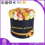 Kundenspezifischer Luxuxblumen-Pappfarbband-Geschenk-Kasten