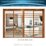 Porte coulissante lourde d'excellente qualité pour la cuisine et la salle de séjour et le balcon