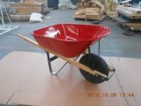 Riga della barra di rotella di legno resistente del giardino della maniglia Wh6601