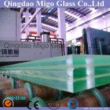 Tipo claro hoja del vidrio de flotador del vidrio laminado con la película clara de PVB