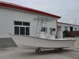 Bateau chaud de Panga de bateau de pêche de Liya 5.8m pour le plaisir avec la console centrale