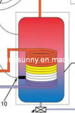 Pressurized separato Solar Hot Water Heater con Solar Collector (HSP-58)