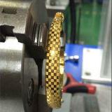 Marcação da jóia da placa conhecida do gravador do laser da fibra do marcador do laser e máquina de estaca Jieda
