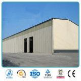 Vertiente de la estructura de acero del bajo costo del diseño moderno de la construcción