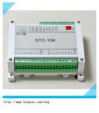 entrée-sortie analogue de coût bas de Modbus RTU Tengcon Stc-104 de l'entrée-sortie 0-20mA/0-5V/0-10V