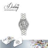 Het Kristal van de Juwelen van het lot van Elegant Horloge Swarovski