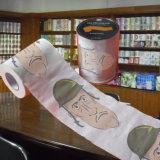 대량 팩 화장지 롤 관례에 의하여 인쇄되는 종이 수건