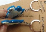Qualität Competitve Preis-Fabrik-Erzeugnis Belüftung-Plastikschlüsselkette mit Keychain
