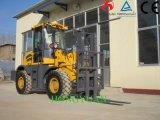 Cpcy30 fora do preço barato da máquina do Forklift 3000kg Weifang da estrada
