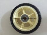 바퀴 무덤을%s 6 인치 단단한 고무 바퀴