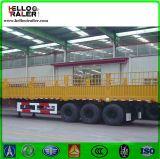 Aanhangwagen van de Vrachtwagen van de Lading van de Muur van de Leverancier van China de Zij, de Aanhangwagen van de Lading van 3 As voor Afrika