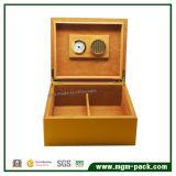 Al por mayor de la caja de cigarros de madera de almacenamiento personalizable