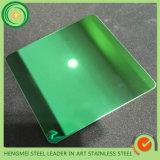 Prezzo di titanio dell'acciaio inossidabile dello specchio di colore di 304 PVD per chilogrammo