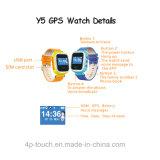 вахта отслежывателя GPS 1.0 '' малышей языков цветастого экрана множественный с кнопкой Sos (Y5)