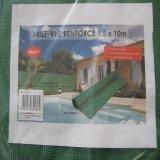 Filet plastique de parasol extérieur de HDPE pour l'agriculture