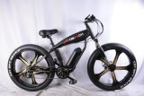 Das meiste Popular26 '' 48V 500W Übungs-Gebirgsfetter Gummireifen-elektrisches Fahrrad