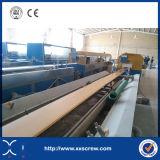 Ligne en plastique en bois de machine d'extrusion de profil du PE WPC de pp
